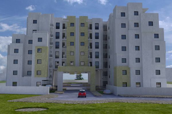 facade projet raoued 2